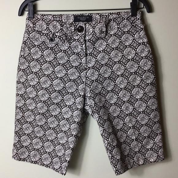 Talbots Pants - Talbots Petite Stretch Bermuda Shorts